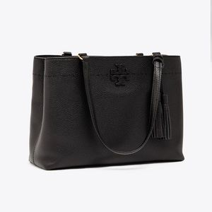 NWOT Tory Burch McGraw Triple-Compartment Tote